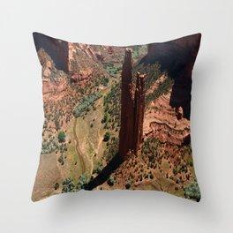 Amazing Spider Rock Throw Pillow