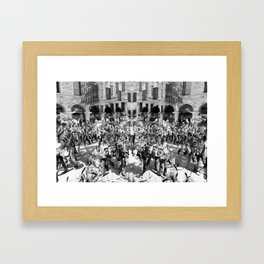 """""""...the setbacks and grieves which we endure help us in our marching onward."""" -- Henry Ford Framed Art Print"""