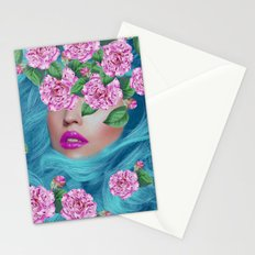 Lady with Camellias Stationery Cards