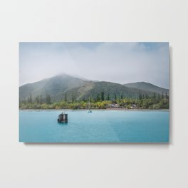 Kuto Bay View at Isle of Pines, New Caledonia Metal Print