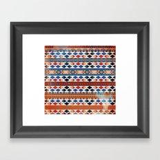 arctic warm Framed Art Print