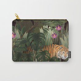 tropical tiger Carry-All Pouch