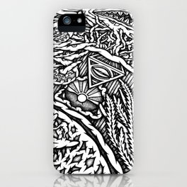 Mandala Ocean Detail iPhone Case