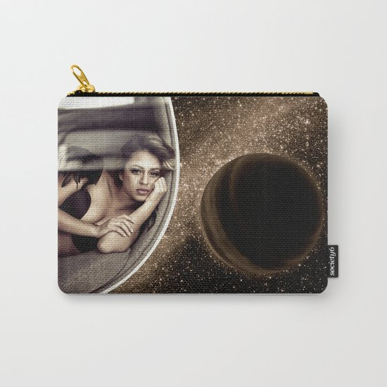 Sad walk in Space Carry-All Pouch