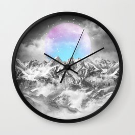 It Seemed To Chase the Darkness Away II Wall Clock