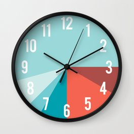Kiddy Clock (Français québécois) Wall Clock