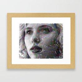 Portrait-Sketch 143 Framed Art Print