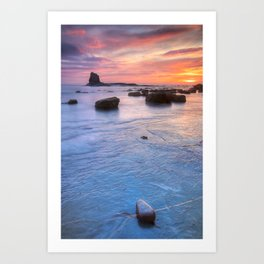 Blacknab Sunrise Art Print