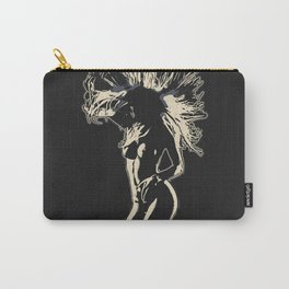 Like a Lion, sexy stencil art 2 Carry-All Pouch