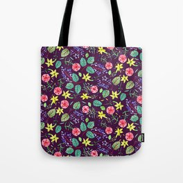Etno flowers Tote Bag