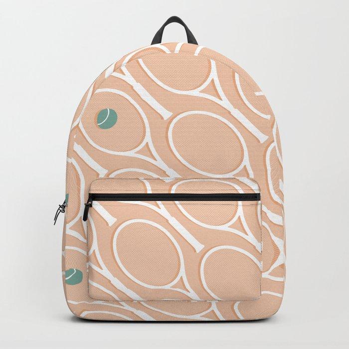 Pink Tennis #society6 #decor #buyart Backpack