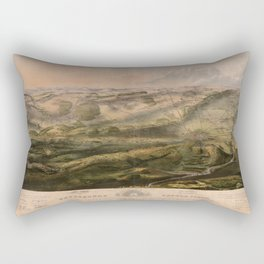 Gettysburg Battlefield July 1st, 2nd, 3rd 1863 Rectangular Pillow