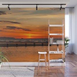 Sunset Seascape Wall Mural