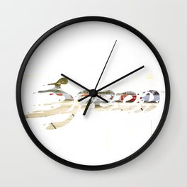 Speed Knockout Wall Clock