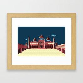 Jama Masjid Framed Art Print