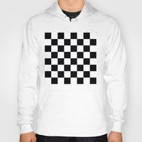 chess Hoodies featuring Chess Game by erkki