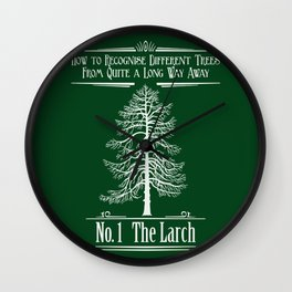 No. 1 The Larch Wall Clock