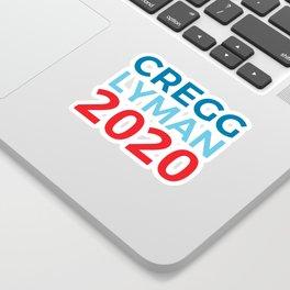 CJ Cregg Josh Lyman 2020 / The West Wing Sticker