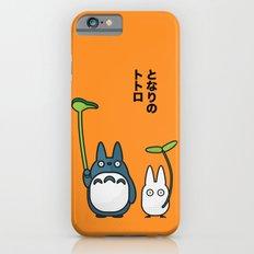 Chu & Chibi Totoro Pop Art - Orange Version Slim Case iPhone 6s