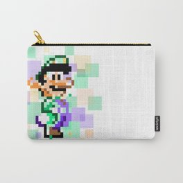 Super Mario Pixel Cubism - Luigi Carry-All Pouch