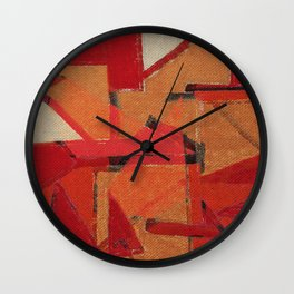 Indigenous Peoples in Brazil Wall Clock