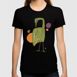 Quirky Brolga T-shirt