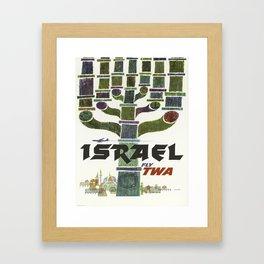 Vintage poster - Israel Framed Art Print