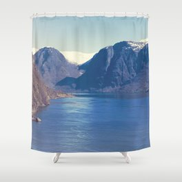 Sognefjord I Shower Curtain