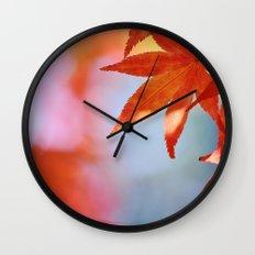 Autumn blush Wall Clock