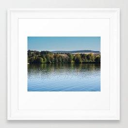 Lake Echternach Luxembourg Framed Art Print