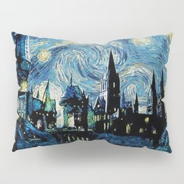 Magic Castle Starry Night Pillow Sham