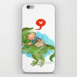 Jurassic World Hug iPhone Skin