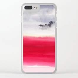Martian bloom Clear iPhone Case