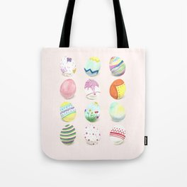 Painted Easter Eggs Tote Bag