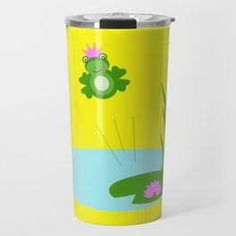 King Frog Jumper Travel Mug
