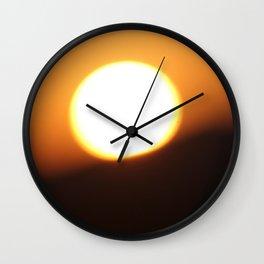Glaring Wall Clock