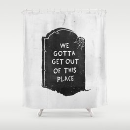 Dead End Shower Curtain