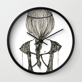 Cat Girl Wall Clock