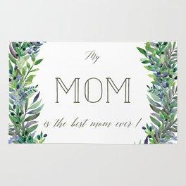Garland for Mom Rug