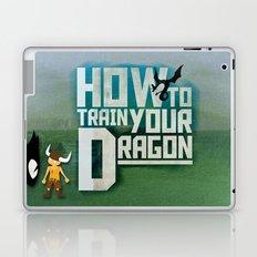 HOW TO TRAIN YOUR DRAGON - Fantasy | Animation | Movie | Fantastic | Childer | Sci-fi Laptop & iPad Skin