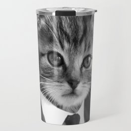 Gentleman Cat Travel Mug