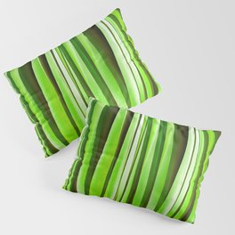 Tropical Green Riverweed Pillow Sham