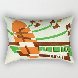 Art Deco 12 Pattern Rectangular Pillow