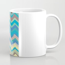 NY Pastel chevron Coffee Mug