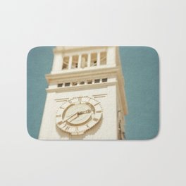Clock Tower  Bath Mat