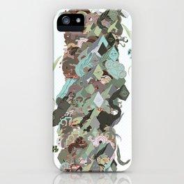 Garbage Pile iPhone Case