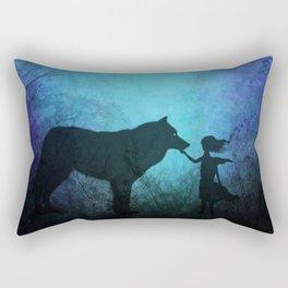 Wolf Whisperer Rectangular Pillow
