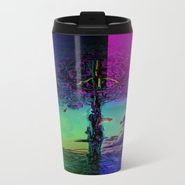 peace tree colours Travel Mug
