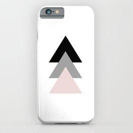 Geometrical Design. Triple Triangles. iPhone Case