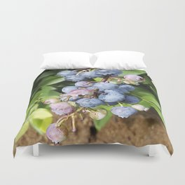 Ready to pick blueberries? Duvet Cover